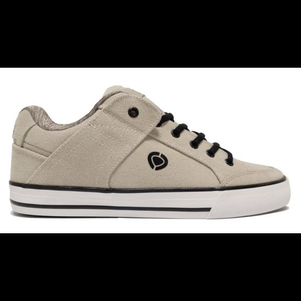 CIRCA 205 Vulc SE - Beige / Black / White gördeszkás cipő