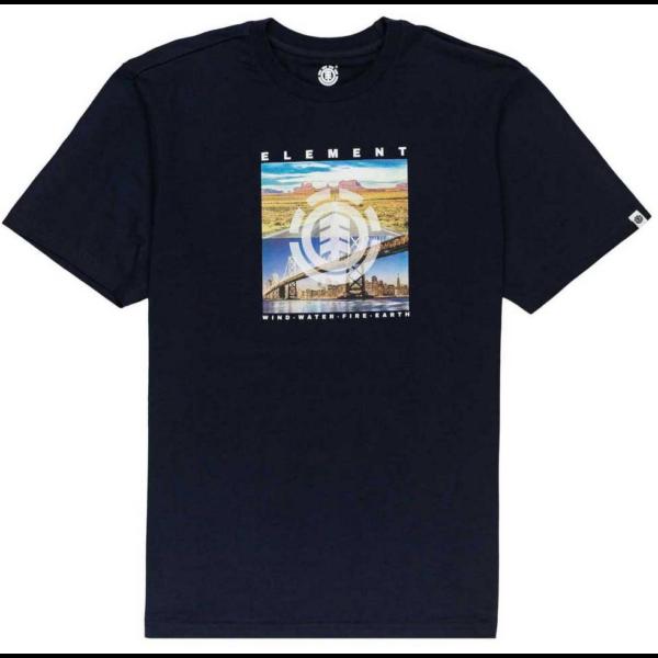 ELEMENT Peoria-Eclipse navy póló