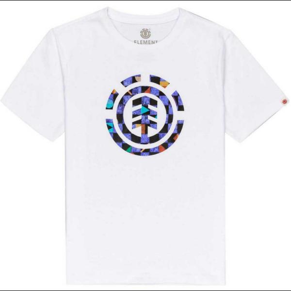 ELEMENT Prism Icon - White póló