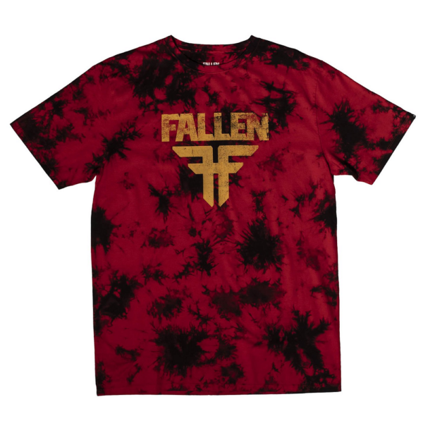 FALLEN Acid- Red / Black póló