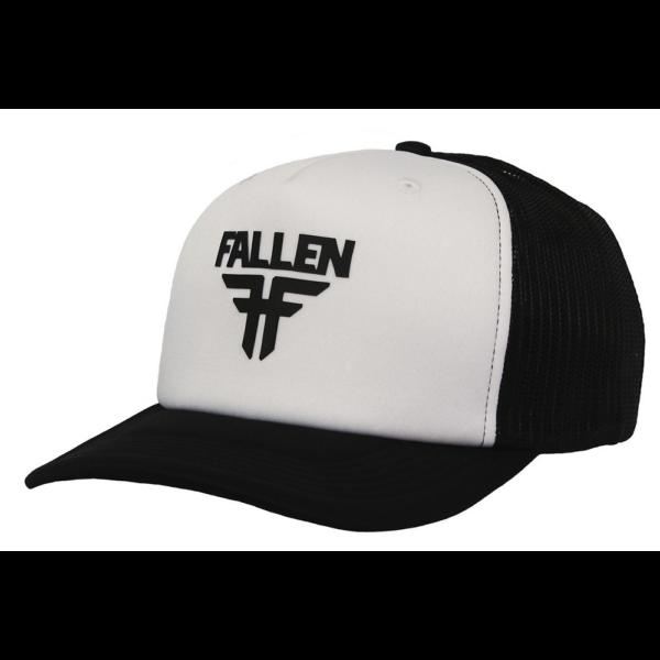 FALLEN Insignia TruckerWhite / Black baseball sapka