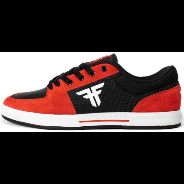 FALLEN Patriot Billy MarksBlack-Red-White gördeszkás cipő.