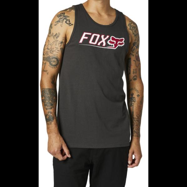FOX Cntro Premium Tank- Black vintage trikó