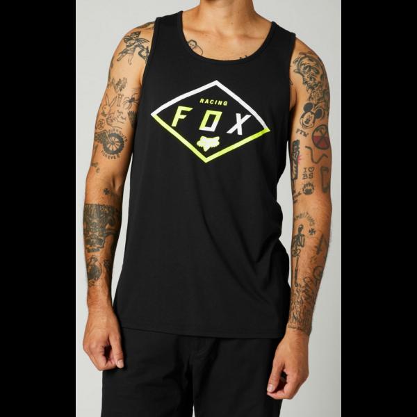 FOX Badge Tech Tank Black trikó