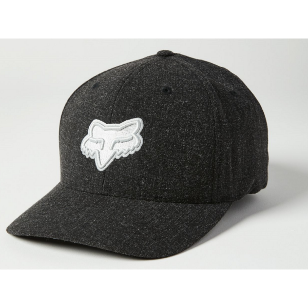FOX Transposition Flexfit  Black / Grey baseball sapka