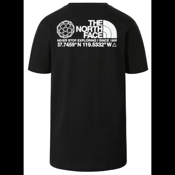 THE NORTH FACE Coordinates SS - TNF Black póló