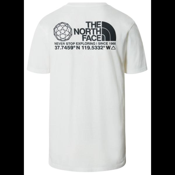 THE NORTH FACE Coordinates SS - TNF White póló
