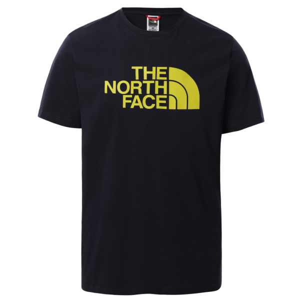 THE NORTH FACE Easy Tee - Aviator navy / Citronelle green póló