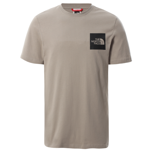 THE NORTH FACE Fine Tee ​- Mineral grey póló