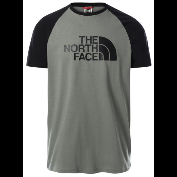 THE NORTH FACE Raglan Easy Tee - Avage Green póló