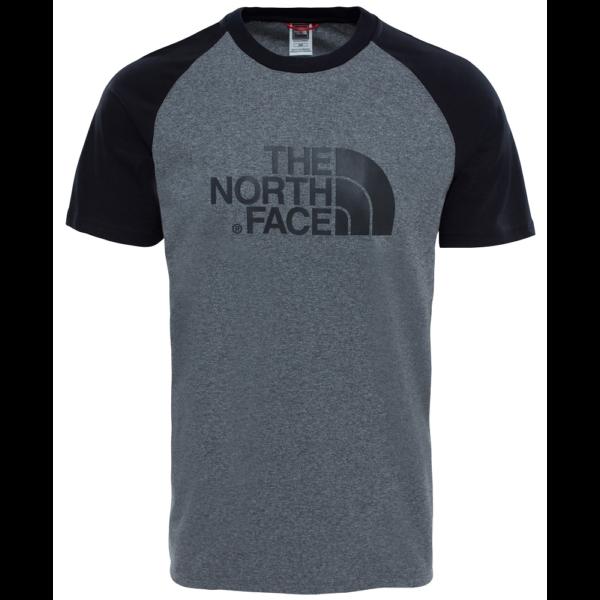 THE NORTH FACE Raglan Easy Tee TNF Mid Grey Heather póló