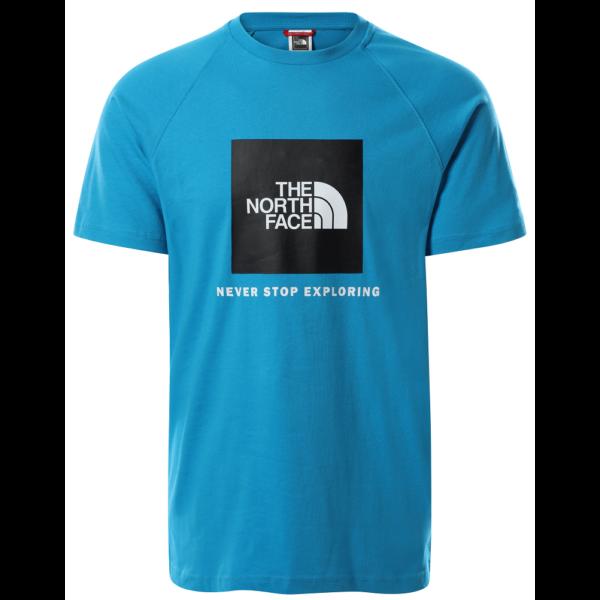 THE NORTH FACE Raglan Redbox Tee Meridian Blue póló