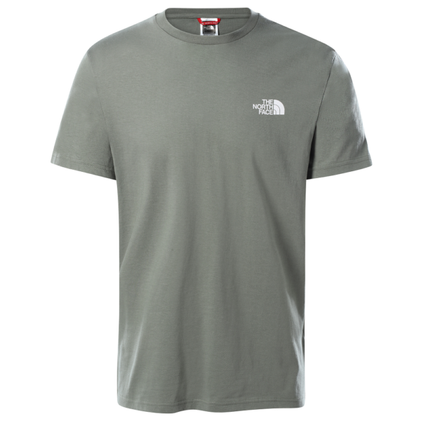 THE NORTH FACE Simple Dome Tee - Avage Green póló
