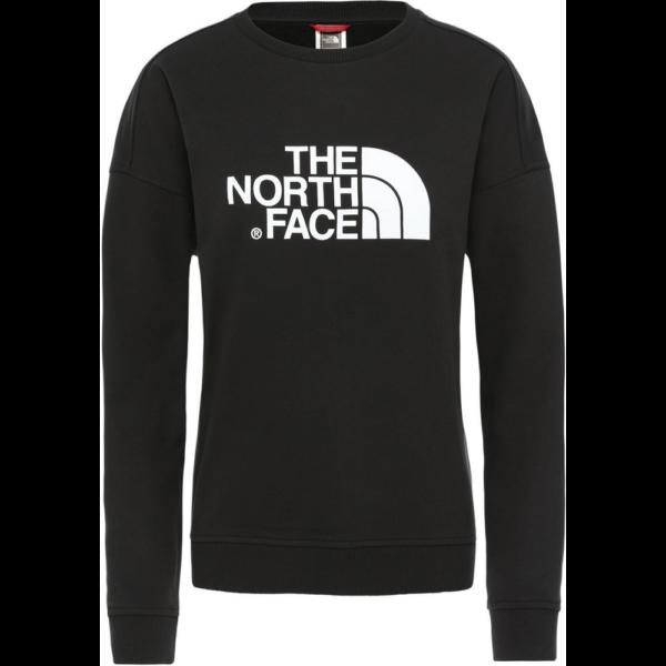 THE NORTH FACE W' Drew Peak Crew  TNF Black női pulóver