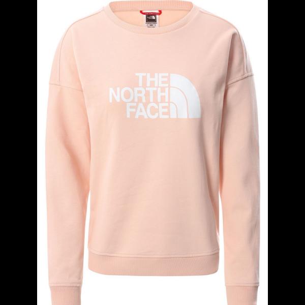 THE NORTH FACE W' Drew Peak Crew Evening sand női környakas pulóver