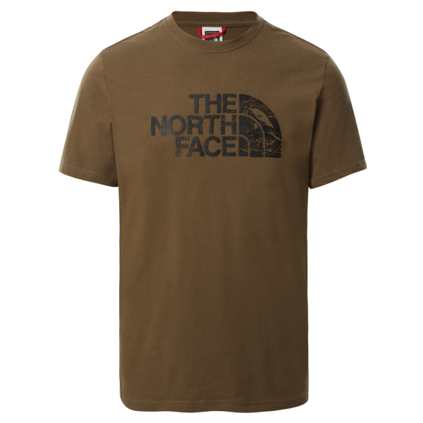 THE NORTH FACE Wood Dome Military Olive póló
