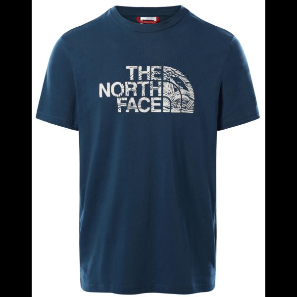 THE NORTH FACE Wood Dome - Monterey Blue póló