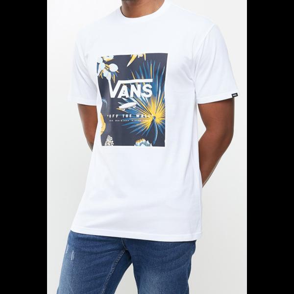 VANS Classic Print Box- Califas / White