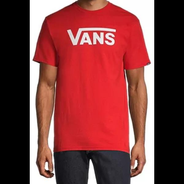 VANS Classic Snow High risk red / White póló