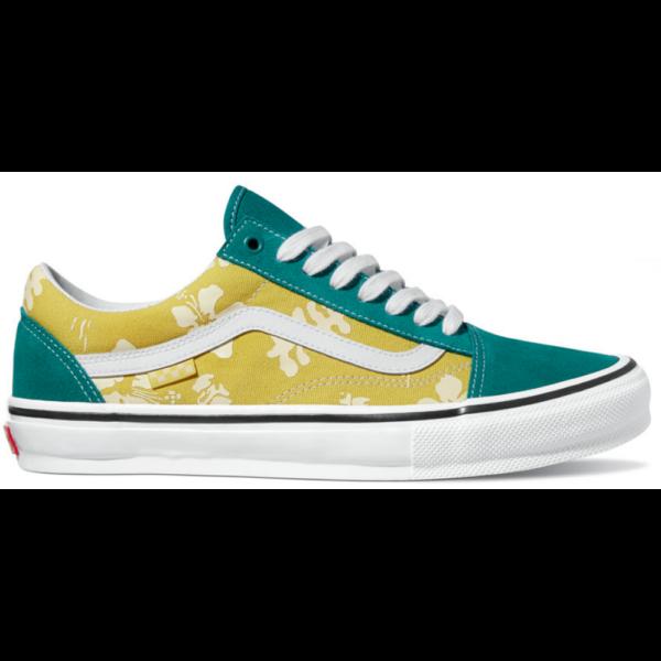 VANS Skate Old Skool (Aloha)  Marine / Gold gördeszkás cipő