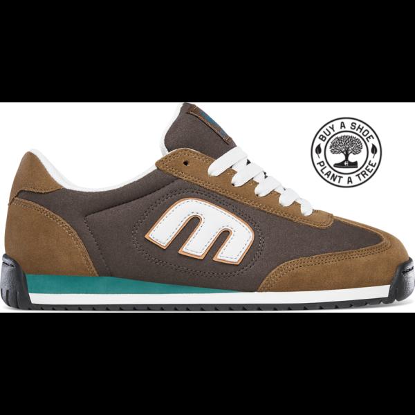 ETNIES LO-CUT II LS- Brown / White / Brown cipő