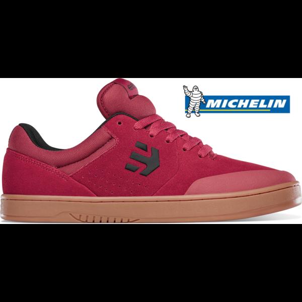 ETNIES Marana Michelin Ryan Sheckler- Red / Gum gördeszkás cipő
