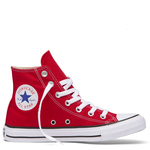 CONVERSE Chuck Taylor All Star HI  #  Red magasszárú vászon tornaciő
