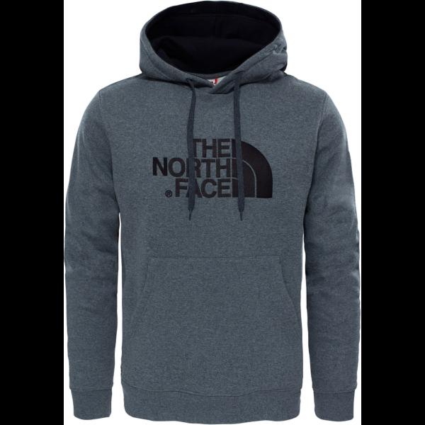 THE NORTH FACE Drew Peak PO- TNF Medium Grey Heather / TNF Black pulóver