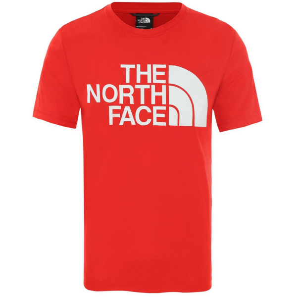THE NORTH FACE Reaxion Easy Tee Red póló