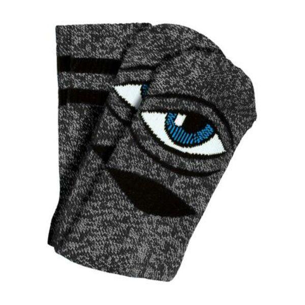 TOY MACHINE Sect Eye III heather grey zokni