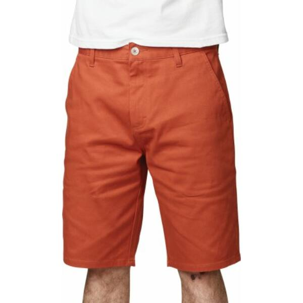 ETNIES Classic Slim Chino Short  #  Coral vászon rövidnadrág
