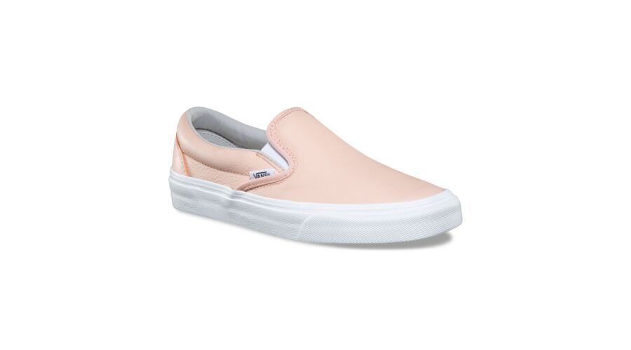 VANS Classic Slip-on (Leather) női vans cipő dd2d2ec284