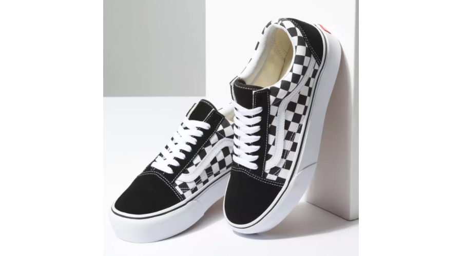 VANS Old Skool Platform (Checkerboard)