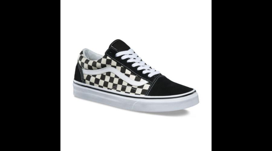 VANS Old Skool (Primary Checker)   Black   White 3be8fbc552