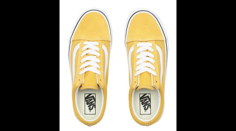 2afd01576b7 VANS Old Skool # Yolk yellow / True white