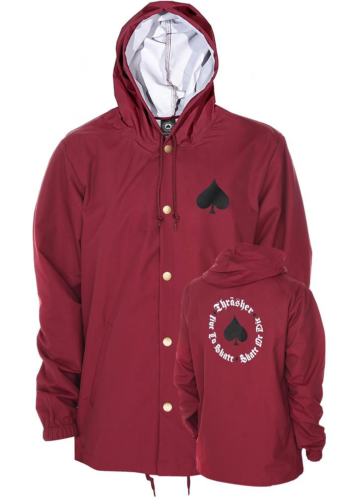 fb4f815a93 THRASHER Light Jacket New Oath Coach